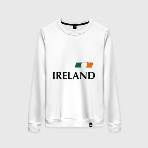 Женский свитшот хлопок Сборная Ирландии - 7