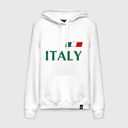 Женская толстовка хлопок Сборная Италии - 10
