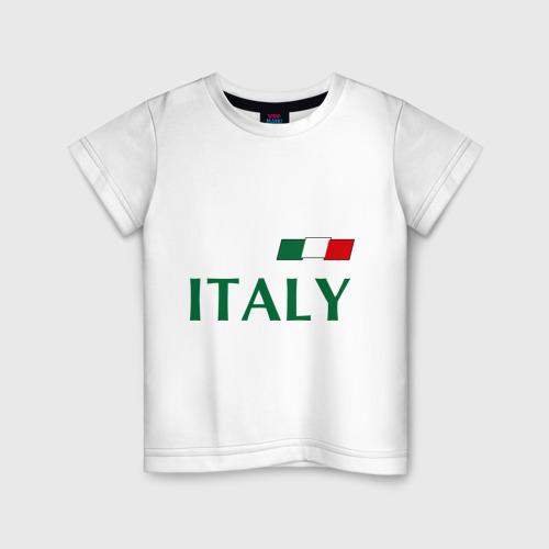 Детская футболка хлопок Сборная Италии - 10