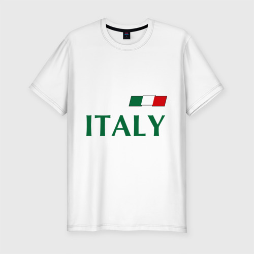 Мужская футболка хлопок Slim Сборная Италии - 10
