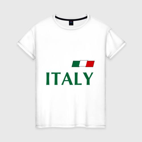 Женская футболка хлопок Сборная Италии - 10