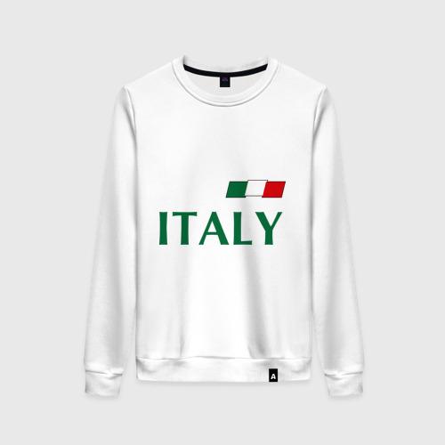 Женский свитшот хлопок Сборная Италии - 10