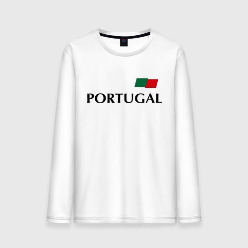 Мужской лонгслив хлопок Сборная Португалии - Криштиану Роналду 7
