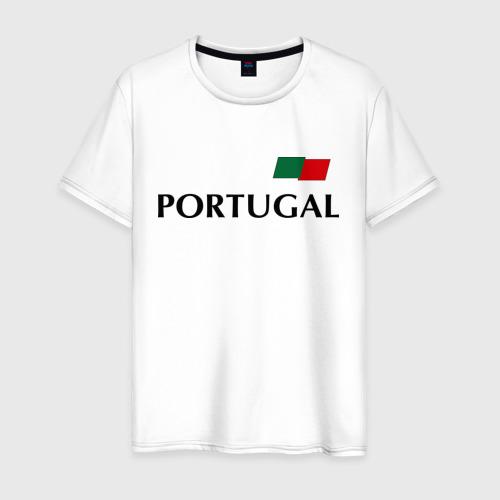 Мужская футболка хлопок Сборная Португалии - Криштиану Роналду 7