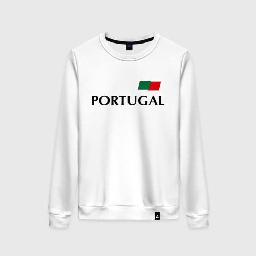 Женский свитшот хлопок Сборная Португалии - Криштиану Роналду 7
