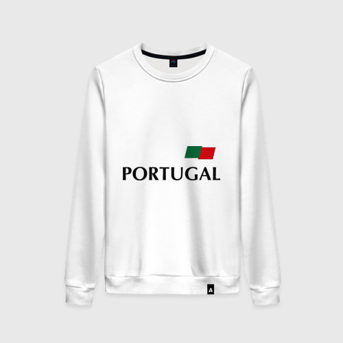Женский свитшот хлопок Сборная Португалии - 10