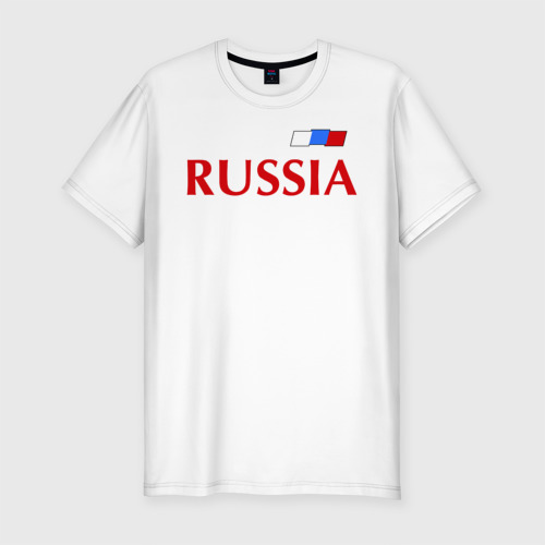 Мужская футболка хлопок Slim Сборная России