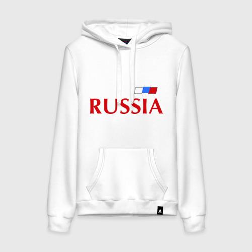 Женская толстовка хлопок Сборная России - 9