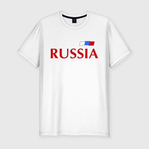 Мужская футболка хлопок Slim Сборная России - 9