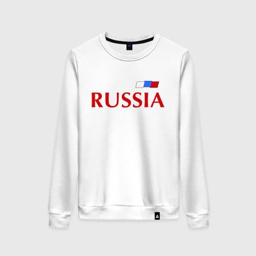 Женский свитшот хлопок Сборная России - 9