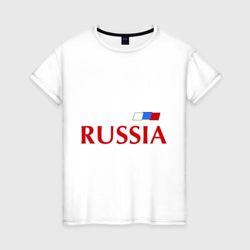 Женская футболка хлопок Сборная России - Андрей Аршавин 10 (Arshavin)