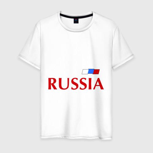Мужская футболка хлопок Сборная России - Александр Кержаков 11
