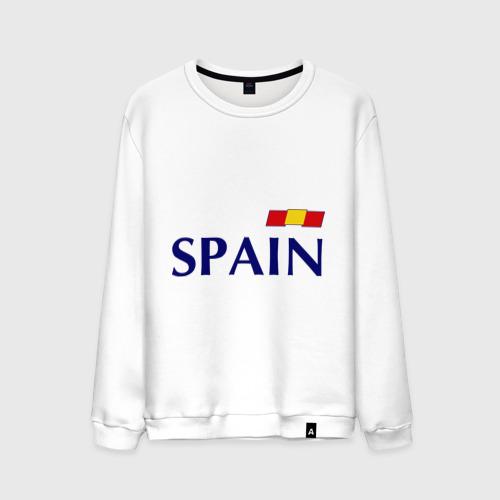 Мужской свитшот хлопок Сборная Испании - Хави 8