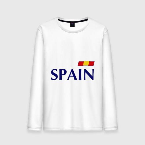Мужской лонгслив хлопок Сборная Испании - 10