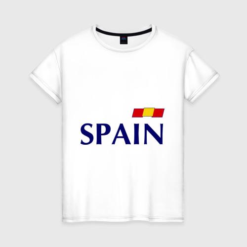 Женская футболка хлопок Сборная Испании - 10