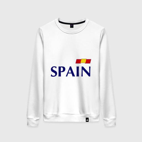 Женский свитшот хлопок Сборная Испании - 10