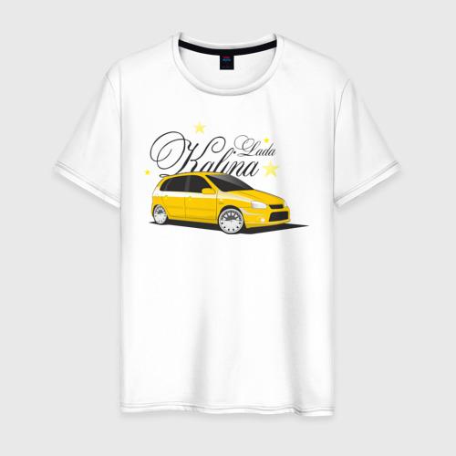 Мужская футболка хлопок Лада Калина