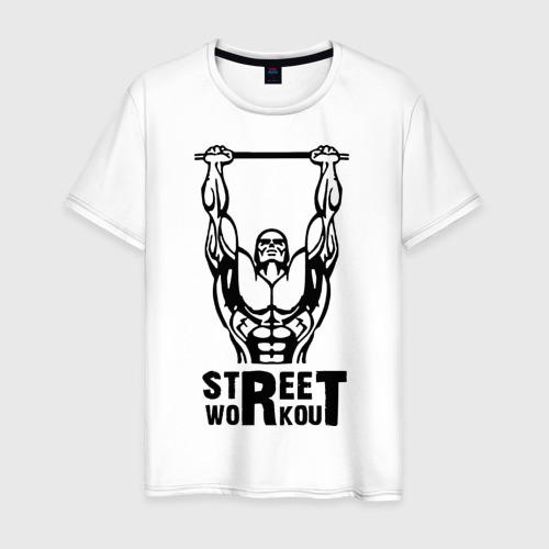 Мужская футболка хлопок Street Workout K
