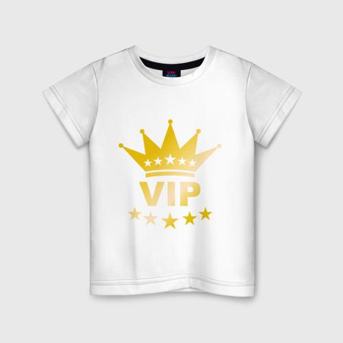Детская футболка хлопок VIP золото