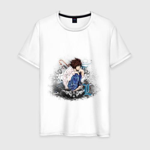Мужская футболка хлопок angel of light L. Death note