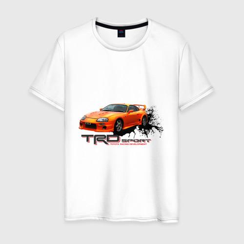 Мужская футболка хлопок toyota supra TRD
