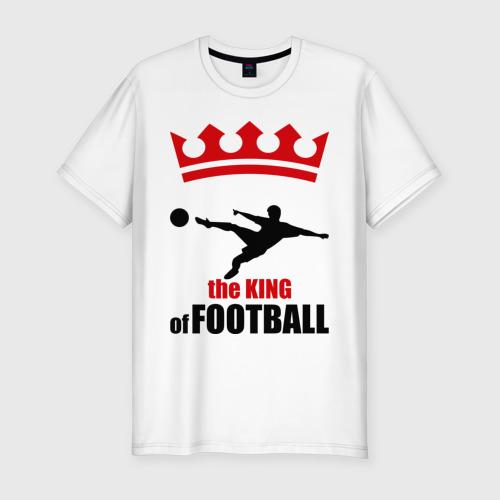 Мужская футболка хлопок Slim Король футбола