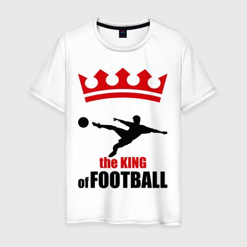 Мужская футболка хлопок Король футбола