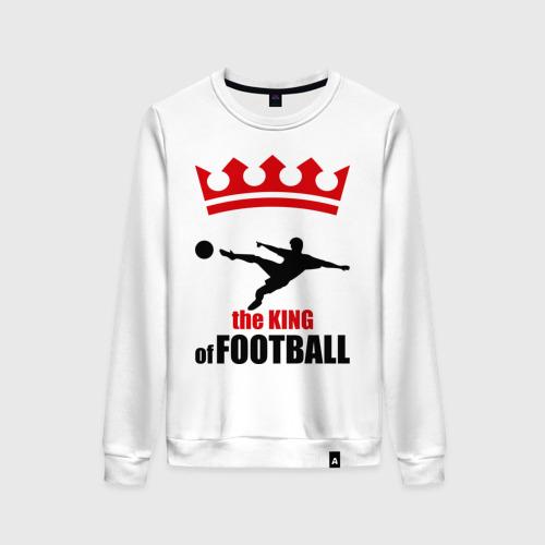 Женский свитшот хлопок Король футбола