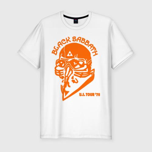 Мужская футболка хлопок Slim Black Sabbath