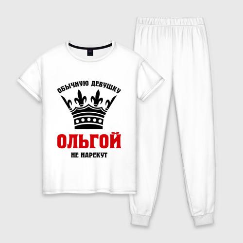 Женская пижама хлопок Царские имена (Ольга)