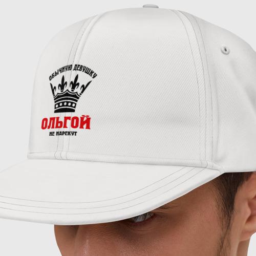 Кепка снепбек с прямым козырьком Царские имена (Ольга)