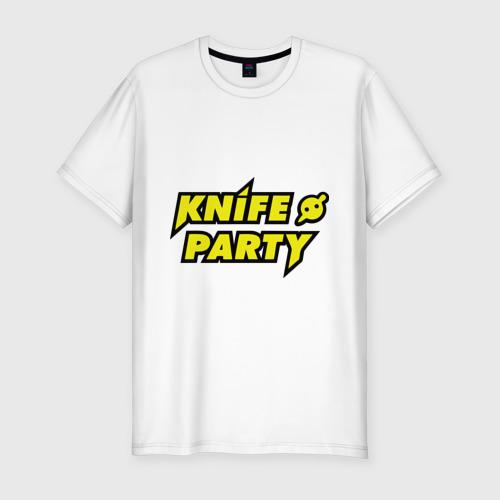 Мужская футболка хлопок Slim Knife party