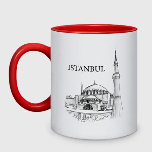 Кружка двухцветная ISTAMBUL (эскиз)