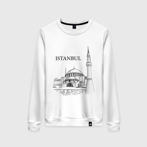 Женский свитшот хлопок ISTAMBUL (эскиз)