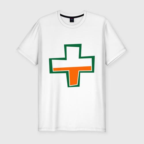 Мужская футболка хлопок Slim TF2 Health