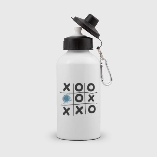 Бутылка спортивная Хабра- крестики нолики
