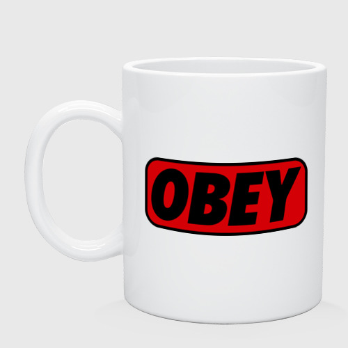 Кружка Лого OBEY