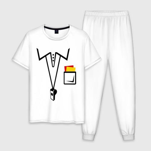 Мужская пижама хлопок Футбольный арбитр