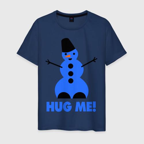 Мужская футболка хлопок Обними меня