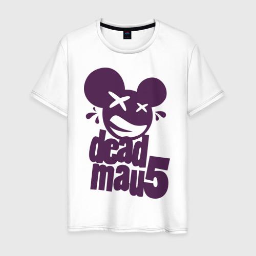 Мужская футболка хлопок DeadMau5
