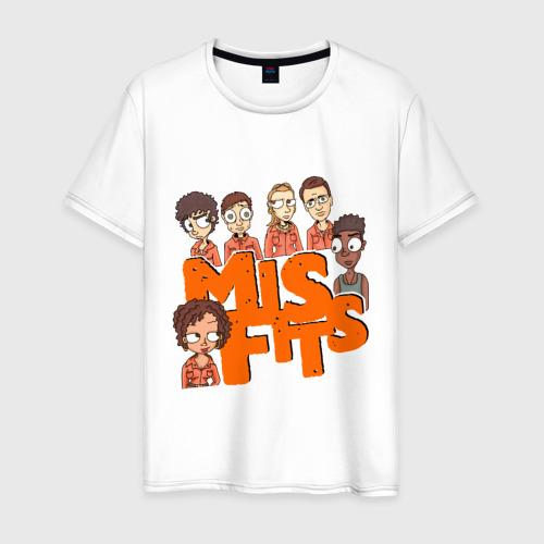 Мужская футболка хлопок Герои MisFits