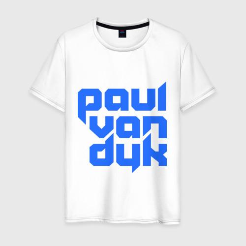 Мужская футболка хлопок Paul