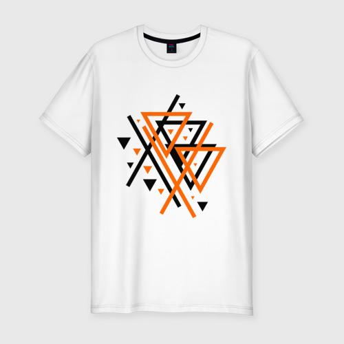 Мужская футболка хлопок Slim Paul van Dyk Chaos