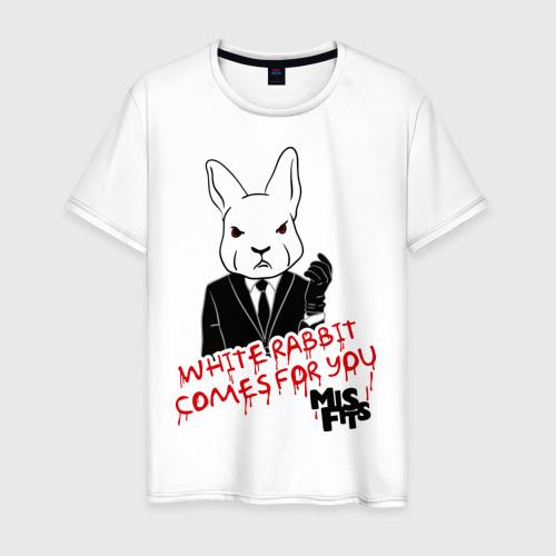 Мужская футболка хлопок Rabbit misfits