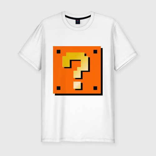 Мужская футболка хлопок Slim Mario box