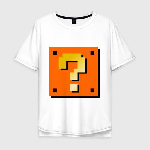 Мужская футболка хлопок Oversize Mario box