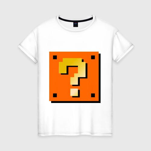 Женская футболка хлопок Mario box