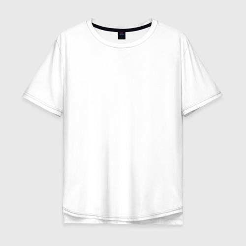 Мужская футболка хлопок Oversize Не клюет. Пришел. Червя. Буду