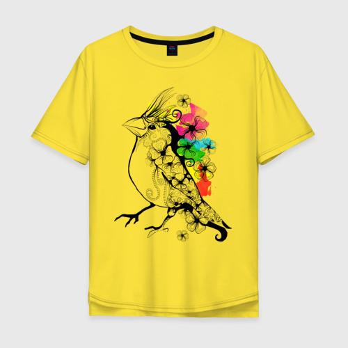 Мужская футболка хлопок Oversize Birdie