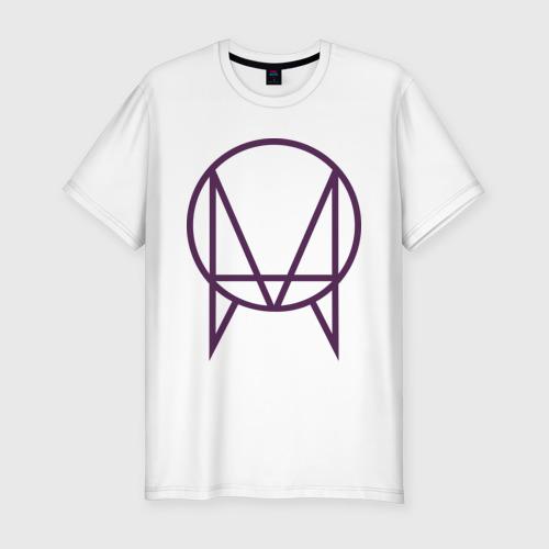 Мужская футболка хлопок Slim Skrillex logotype